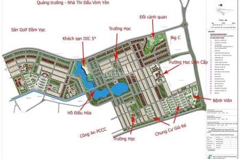 Bán một số lô biệt thự - Vị trí đắc địa - Giá rẻ - KĐT Nam Vĩnh Yên - TP Vĩnh Yên 0987052592