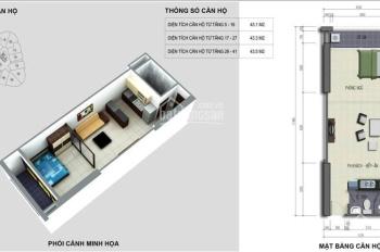 Chính chủ cần bán gấp căn hộ 43.5m2 tòa B Vinaconex 2 Nguyễn Xiển đã có sổ đỏ, 0979.121.536
