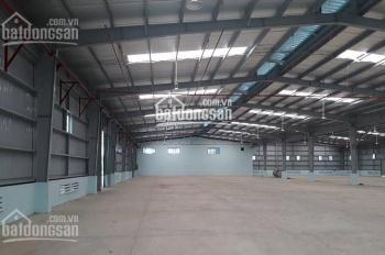 Cho thuê kho, xưởng tại cảng Hồng Vân, Thường Tín dt 1200m2 và 2100m2 xe container vào thoải mái