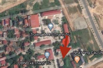 Bán đất kinh doanh tốt gần THCS Thanh Trù, Vĩnh Yên, giá 15tr/m2. LH 0399.566.078