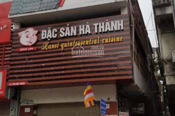 Chính chủ bán mặt phố số 121 Tôn Đức Thắng, Đống Đa, HN nhà ô góc 2 mặt tiền, giá 25 tỷ