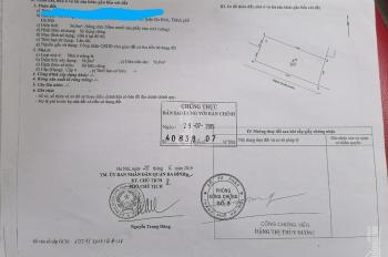 Bán đất chia lô Đội Cấn, Giang Văn Minh ô tô vào nhà