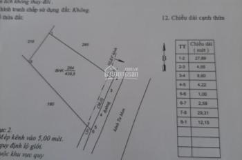 Bán gấp 439.5m2 Đất trồng cây lâu năm Cầu Kênh Mới. LH 0949.099.305