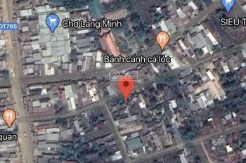 Bán đất ngay trong chợ Lang Minh, Xuân Lộc, Đồng Nai, 53x33m, có 300m2 TC, chỉ 6,5 tỷ, SHR
