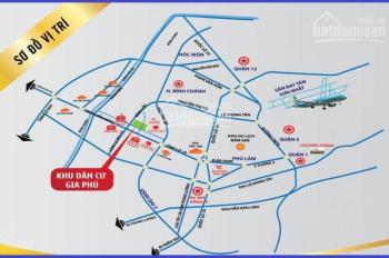 Bán đất KDC Gia Phú,MT Vĩnh Lộc,Bình Chánh,giá 14-16tr/m2,thổ cư 100%,xây tự do,SHR.LH 0935846512