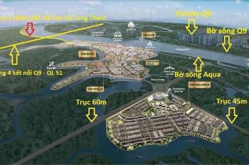Bán nhà phố biệt thự Aqua City, giá tốt nhất CĐT Novaland, vị trí đẹp