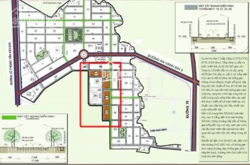 Chính chủ cần bán gấp liền kề 25 KĐT Vân Canh HUD, Hoài Đức, đường trước nhà 17,5m, LH 0915.182.666