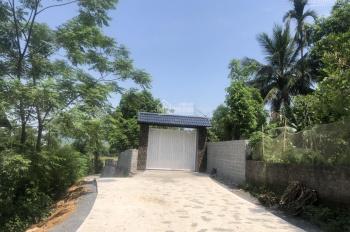 Bán gấp khuôn viên hoàn thiện view đẹp tại Lương Sơn, Hòa Bình diện tích 2.500m2