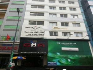 Cho thuê văn phòng quận Tân Bình - GMA Building, DT 110m2. Giá 35,5 triệu/tháng LH 0763966333