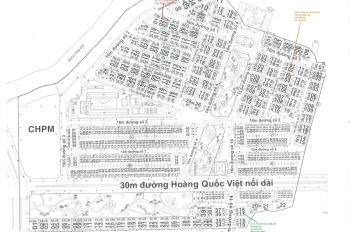Đi định cư bán gấp lô sổ đỏ duy nhất tại KDC Phú Mỹ- Vạn Phát Hưng, Quận 7; 0935.204050