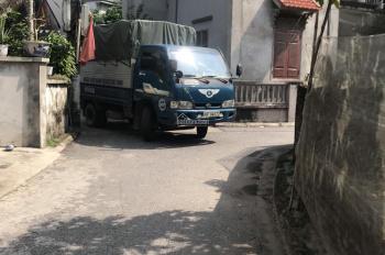 Bán gấp 90m2 đất Đa Tốn, Gia Lâm, ô tô tải vào nhà. LH 0986253572