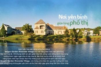 Đất nền biệt thự Quận 9 Sài Gòn Garden giá chỉ 21 tỷ/ nền 1000m2 giáp 3 mặt sông LH: 0902520285