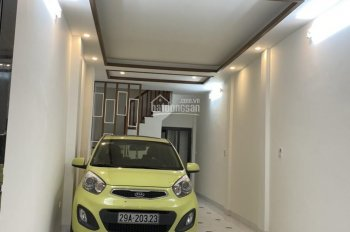 Bán nhà 5,2 tỷ, 45m2x5T xây mới, ô tô vào nhà, ngõ 66 Yên Lạc, Vĩnh Tuy, 19 Lạc Trung, Hai Bà Trưng