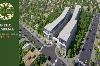 Mở bán dự án nhà phố An Phát Residence xây dựng 1 trệt 2 lầu, P. Tân Bình, TP Dĩ An, Bình Dương