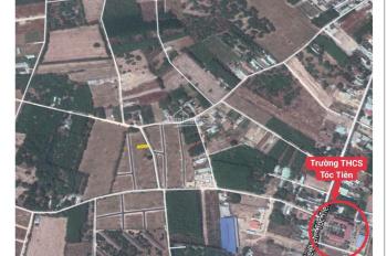 Đất 2 mặt tiền, đối diện chợ, ngay sau TTHC xã Tóc Tiên, trạm y tế & nhà máy All Wells 7.000 CN