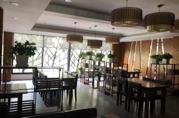 Cho thuê nhà mặt phố Dã Tượng, Hoàn Kiếm: Diện tích 125m2 x 6 tầng + 1 hầm, mặt tiền 8m, nhà mới