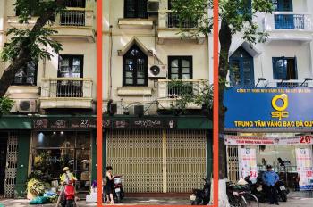 Cho thuê nhà 3 tầng, tổng diện tích 190m2, mặt phố Phan Đình Phùng, Ba Đình, Hà Nội