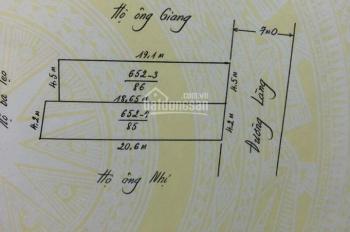 Chính chủ bán đất mặt đường thôn Tiên Sa, xã Hồng Thái, huyện An Dương, HP