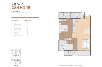 Bán nhanh căn 2PN Hausbelo A23 view nội khu và biệt thự vừa đẹp vừa mát, chênh thấp 65 triệu