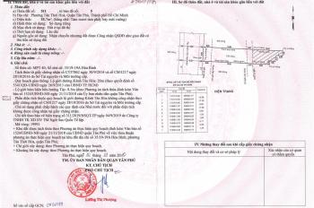 Bán đất F0 có sổ hồng MT Kênh Tân Hoá, Q Tân Phú. Đối diện CV Đầm Sen, Giá 1tỷ6. DT 100m2