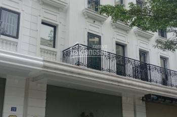 Cho thuê nhà liền kề Tôn Thất Thuyết - Dịch Vọng Hậu. DT 110m2, 6T nổi, 1 hầm, MT 6m, giá 70tr/th