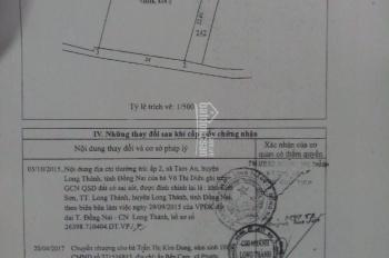 Đất Long Thành - Đồng Nai, 814,2m2, giá 5 tỷ, LH 0928020899