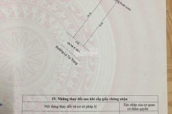 Tôi có 1 lô đất đường Lý Tự Trọng gần sát Thanh Sơn, dt 87m2 và giá bán là 10.2 tỷ