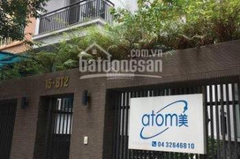 Cho thuê biệt thự MP Trung Văn, Vinaconex 3, 170m2, mặt tiền 10m, 4 tầng, 1 hầm, 35 tr/tháng