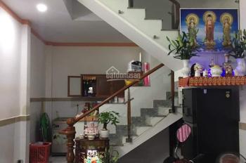 Bán nhà 4mx10m 1 trệt 1 lầu 2PN quận Bình Tân, đường Số 14, phường Bình Hưng Hòa A