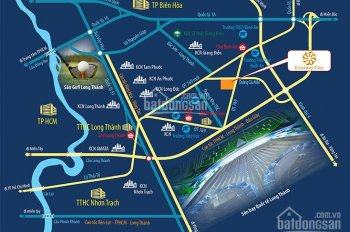 Dự án mới Century City Công Ty Địa Ốc Kim Oanh liền kề sân bay quốc tế Long Thành chiết khấu cao
