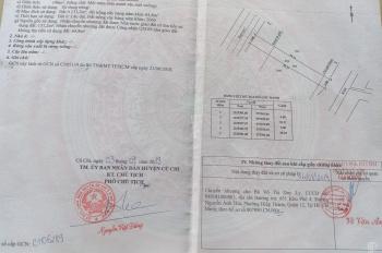 Mặt tiền Tỉnh Lộ 7, 5*39m, giá 1 tỷ 9 thổ cư 100%, sổ hồng riêng, 0971244575 Nam