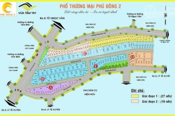 Cần tiền kinh doanh bán đất Phú Đông 2, Linh Đông, Thủ Đức DT: 60m2 - 22tr/m2. 22LH: 0904714006