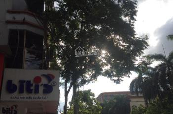 Cho thuê nhà mặt phố căn góc view ngã tư Trần Quốc Hoàn 25m2 x 4 tầng giá 15tr/th. LH: 0983814882
