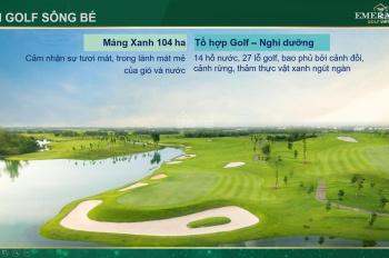 Căn hộ cao cấp bậc nhất tại Bình Dương The Emerald Golf View