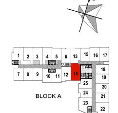 Bán căn hộ 93 Lò Đúc: 119m2, B/C Đông Nam, full nội thất. Giá 5 tỷ