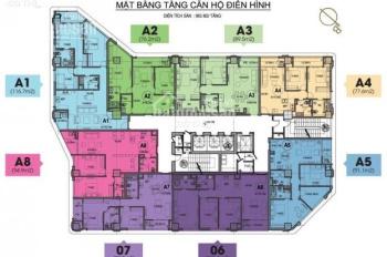 Căn hộ A3 thiết kế vuông vắn - view trọn Hồ Bảy mẫu - HDI Tower 55 Lê Đại Hành, giá 7.8 tỷ, full NT