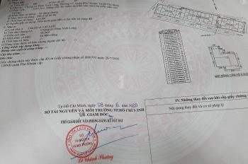Cần bán căn chung cư lầu 5, lô H chung cư Phan Xích Long