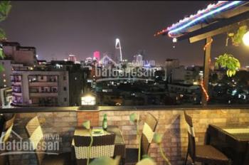 Rooftop mặt tiền Hàm Nghi, P. Bến Nghé, Q1 60m2 giá 15.5tr lối đi riêng