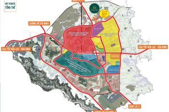 Bán đất nền gần khu CNC Hòa Lạc, sổ đỏ chính chủ. LH 0946 902 389