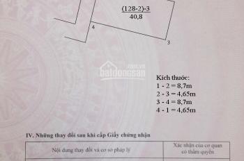 Bán đất Kim Sơn, Gia Lâm, Hà Nội, DT 41m2, MT 5m, giá siêu rẻ, chỉ 539 triệu, LH 0362277777.