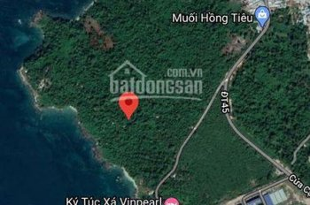 Bán 23,5 ha đất Gành Dầu, Đảo Phú Quốc, Kiên Giang sát Vinpearl Phú Quốc 0799799606 Phúc
