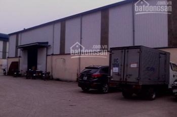 Cho thuê kho xưởng tại 37 Đức Giang - Long Biên. DT 1500m2 (có thể chia nhỏ 200, 500, 700m2)