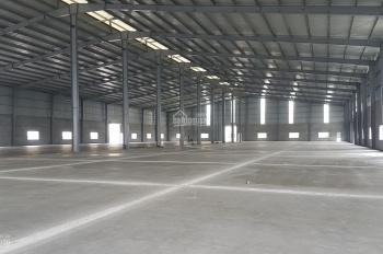 Cho thuê nhà xưởng Phố Nối, Mỹ Hào, Hưng Yên, DT 2000m2 và 3600m2 cách ngã 4 Phố Nối 500m