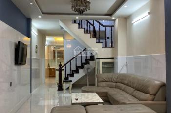 Cho thuê nhà 3 lầu mới đẹp MT đường Nguyễn Minh Hoàng Phường 12, Quận Tân Bình