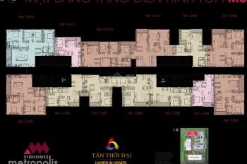 Cần bán căn hộ cao cấp 11A, tòa M3, Vinhomes Metropolis
