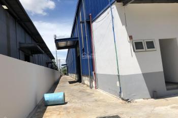 Cho thuê nhà xưởng 5500m2 trong KCN Tân Phú Trung, mặt tiền Quốc lộ 22, Củ Chi