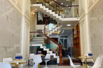 Nhà bán 1 trệt 1 lửng 3 lầu, mặt tiền đường Hưng Phú, Q8, cách cầu Nguyễn Tri Phương 300m, DT 4x16m