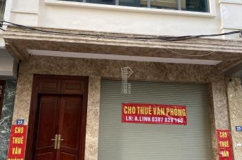 Chính chủ cho thuê tòa nhà 4 tầng làm văn phòng, 100m2/tầng. LH 0387828180