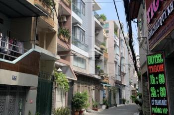 Nhà siêu đẹp Nguyễn Kiệm: 4 x 12m, nở hậu 6m, trệt, 3L ST, 4PN, 4WC
