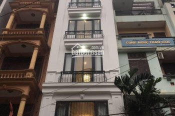 Cho thuê nhà MP Mễ Trì Thượng - Nam Từ Liêm - HN DT 58m2, 7 tầng thông sàn, có thang máy, điều hoà